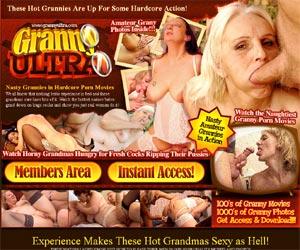 Granny Ultra - Source of Hot Grandma Sex Movies and Gilf Photos